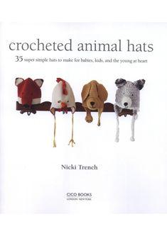 Gallery.ru / Фото #3 - Crocheted Animal Hats35 - 2017 - Chispitas
