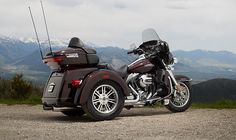 Welcome to the trike built the Harley-Davidson way. Set to the rumble of the Harley V-twin. Harley Davidson Trike, Harley Davidson Road Glide, 2014 Harley Davidson, American Motorcycles, Motorcycles For Sale, Trike Motorcycles, Choppers, Baggers, Best Bike Shorts