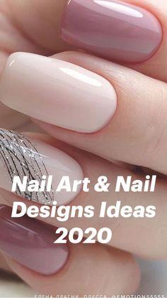 Classy Nails, Stylish Nails, Cute Nails, Classy Acrylic Nails, Colorful Nail Designs, Acrylic Nail Designs, Nail Art Designs, Neutral Nail Designs, Classy Nail Designs