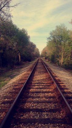 Same picture of the railroad by my house. Different filter