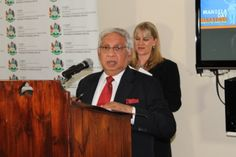 #MandelaMarathon Address by #Mayor Bhamjee
