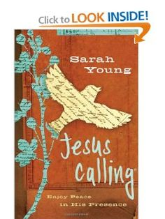 Jesus Calling: Enjoy Peace in His Presence (Teen Edition): Sarah Young: 9781400321681: Amazon.com: Books