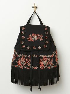 Free People Bed of Roses Backpack