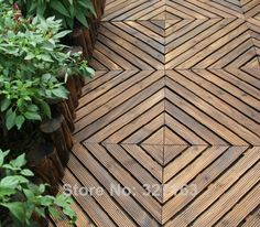 10 x Outdoor Water Proof Fir Wood Interlocking Tiles Flooring Wooden Slats Pool Fast Shipping by Fedex & DHL-in Other Home Products from Hom.