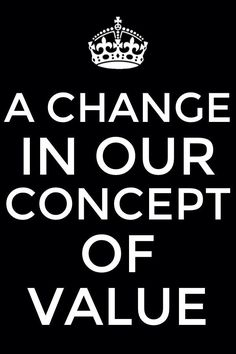 Having a Change in our Concept of Value as we See the Preciousness of Christ - We need to have a change in our concept of value! More via, www.agodman.com
