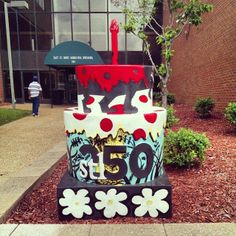 #stl250 East St Louis City Hall Birthday Cake