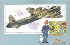 tintin and short stirling // the mustache! *snorts*