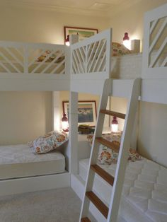 pinterest bunk bed ideas | Kids Bunk Beds Design, Pictures, Remodel, Decor and Ideas | Girls Room