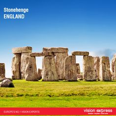 #England #Stonehenge #GrandVision #VisionExpressIndia Stonehenge in England dates back thousands of years and is an important tourist destination. After visiting Stonehenge, why don't you drop into a Vision Express store in Salisbury, one of many Vision Express stores located across Great Britain.