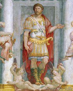 Pellegrino Tibaldi - Hadrian / Fresko von P.Tibaldi