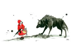 """""""Red Riding Hood"""" - Threadless.com - Best t-shirts in the world"""