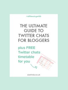 Boost your blog on Twitter by taking part in these Twitter Chats for bloggers. Click through to download my free printable timetable and never miss another chat!