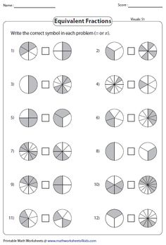 Equivalent fraction worksheets contain fraction bars, pie models, finding missing numbers, writing and representing equivalent fractions and more. Math Fractions Worksheets, 3rd Grade Math Worksheets, School Worksheets, 4th Grade Math, Math Notebooks, Interactive Notebooks, Equivalent Fractions, Teaching Math, Teaching Geography