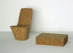 Cork Chair, Design by Jasper Morrison, Vitra Furniture, Switzerland.  www.vitra.com
