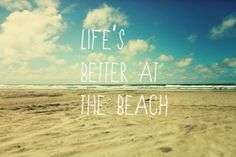 NUEVO POST: LIFE IS BETTER AT THE BEACH! #beach #post #blog #blogger #blogosfera #caritademona