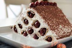 Prajitura cu branza dulce si spuma de ou (Prajitura Neli) - Retete culinare by Teo's Kitchen Crepe Cake, Pavlova, Diy Food, Crepes, Tiramisu, Sweet Tooth, Cheesecake, Food And Drink, Gem