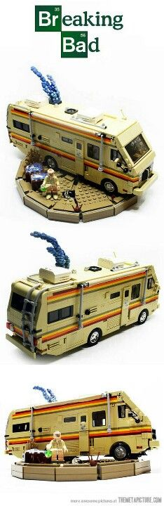 Breaking Bad Legos