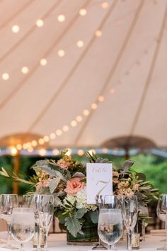 Open year round, Willowdale Estate is just north of Boston, Massachusetts and offers catering, planning, and equipment for weddings and events. Tent Wedding, Wedding Venues, Dusty Miller, Floral Centerpieces, Event Venues, White Flowers, Summer Weddings, Blush Pink, Table Decorations