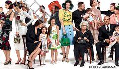 Dolce & Gabbana's Family Affair - http://chicdfr.co/1FFjyuH