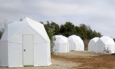 Homes for refugees: eight new designs for conflict housing