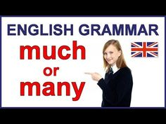 "When to use ""much"" and ""many"" 