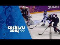 Ice Hockey - USA 0 - 5 Finland - Men's Full Bronze Medal Match | Sochi 2...
