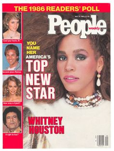 People magazine, May 19, 1986 — America's Top New Star: Whitney Houston