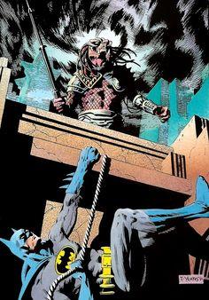 Batman vs Predator * Superhero vs Alien trophy hunter * DC * Detective Comics * Dark Horse Comics * Crossovers * Mashups * Amalgams * Books
