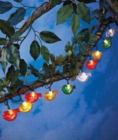 Vtg outdoor patio rv blow mold owl lights 10 tiki bar halloween novelty birds string lights great for camper awning rv patio or deck aloadofball Gallery