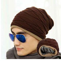 Men's Knitted Winter Skull Cap