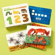 Kids' Educational Toys: Kids Eric Carle Number Flash Cards in Educational Toys