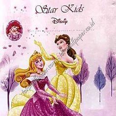 Toko Wallpaper - tokowallpaper.com Kids Wallpaper, Home Deco, Disney Characters, Fictional Characters, Aurora Sleeping Beauty, Disney Princess, Retro, Art, Craft Art