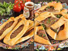Вкусная пауза - Турецкие пиде с мясом.