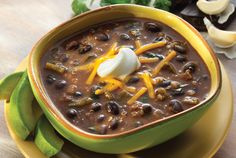 Black Bean Poblano Mole Stew | S&W Beans Recipe