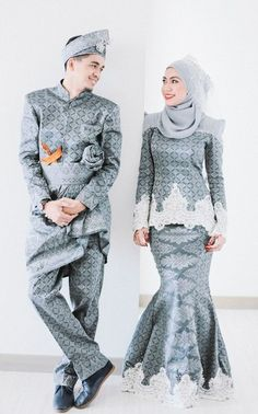 #songket wedding dress
