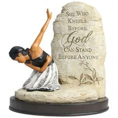 African American Expressions | She Who Kneels figurineAfrican American Expressions