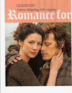 Caitriona and Sam's Interview and Photos in EW Magazine (April 10, 2015) -- 1/4