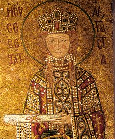 Empress Irene - Hagia Sophia mosaic