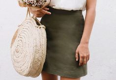 A Pair & A Spare | Make This DIY A-line Skirt