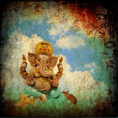 this painting needs to be on my wall...    GANESHA
