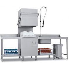 Lavavajillas Industrial de Capota Cesta 50x50 cm