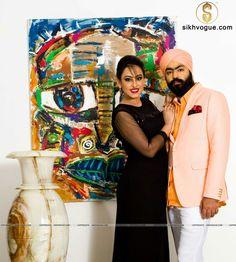 Models: MilanPreet Kaur & Jasneet Singh Stylist: Sandy Larma Photography: Nikhil Raj Makeup Artist: Shilpa Shokhanda & Gurmeet Kaur  Sikh vogue extends heartfelt gratitude to Harpreet Singh Harp Chawla for his hospitality and allowing us to shoot at his spacious,luxurious and picturesque farmhouse.  #sikh #fashion #style #trend #model #turban #beard #SikhVogue #magazine #photography #vogue