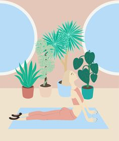 Exercise time on Behance