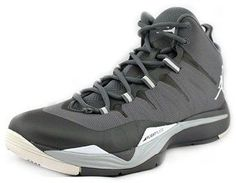 timeless design db288 89349 Jordan Jordan Super.Fly 2 Men Round Toe Canvas Gray Basketball Shoe    Bluefly.Com