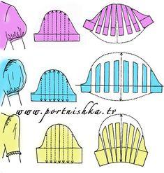 Pattern Drafting Tutorials, Sewing Tutorials, Clothing Patterns, Sewing Patterns, Fashion Drawing Tutorial, Pola Lengan, Sewing Sleeves, Sleeves Designs For Dresses, Modelista