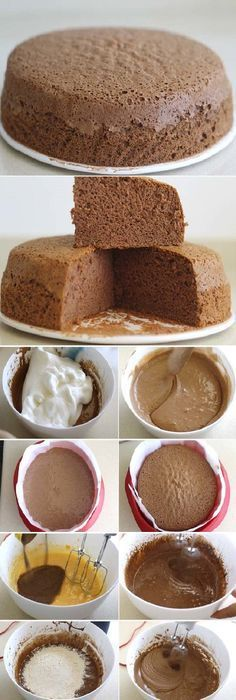 THE SECRET of the spongy chocolate sponge cake so that it stays that way If you like to tell us HELLO and give it to Like preheat the oven to I put my oven at 160 º because it is powerful, so in this case I lowered the …