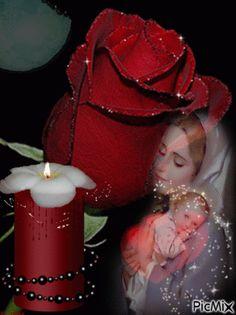 Skonsultuj PicMix good evening własność narieta o PicMix. Mary Jesus Mother, Blessed Mother Mary, Mary And Jesus, Jesus Is Lord, Fatima Prayer, Rita Hayward, House Of Gold, Dark Art Photography, Beautiful Dark Art