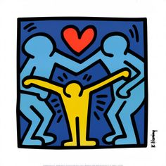 Family by Keith Haring