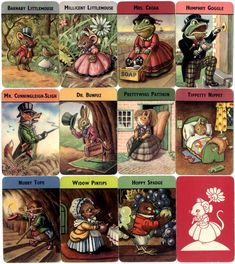 Woodland Snap card game published by Pepys Games (Castell Brothers Ltd)