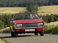 1967–71 Opel Rekord Cabriolet by Karl Deutsch (C)